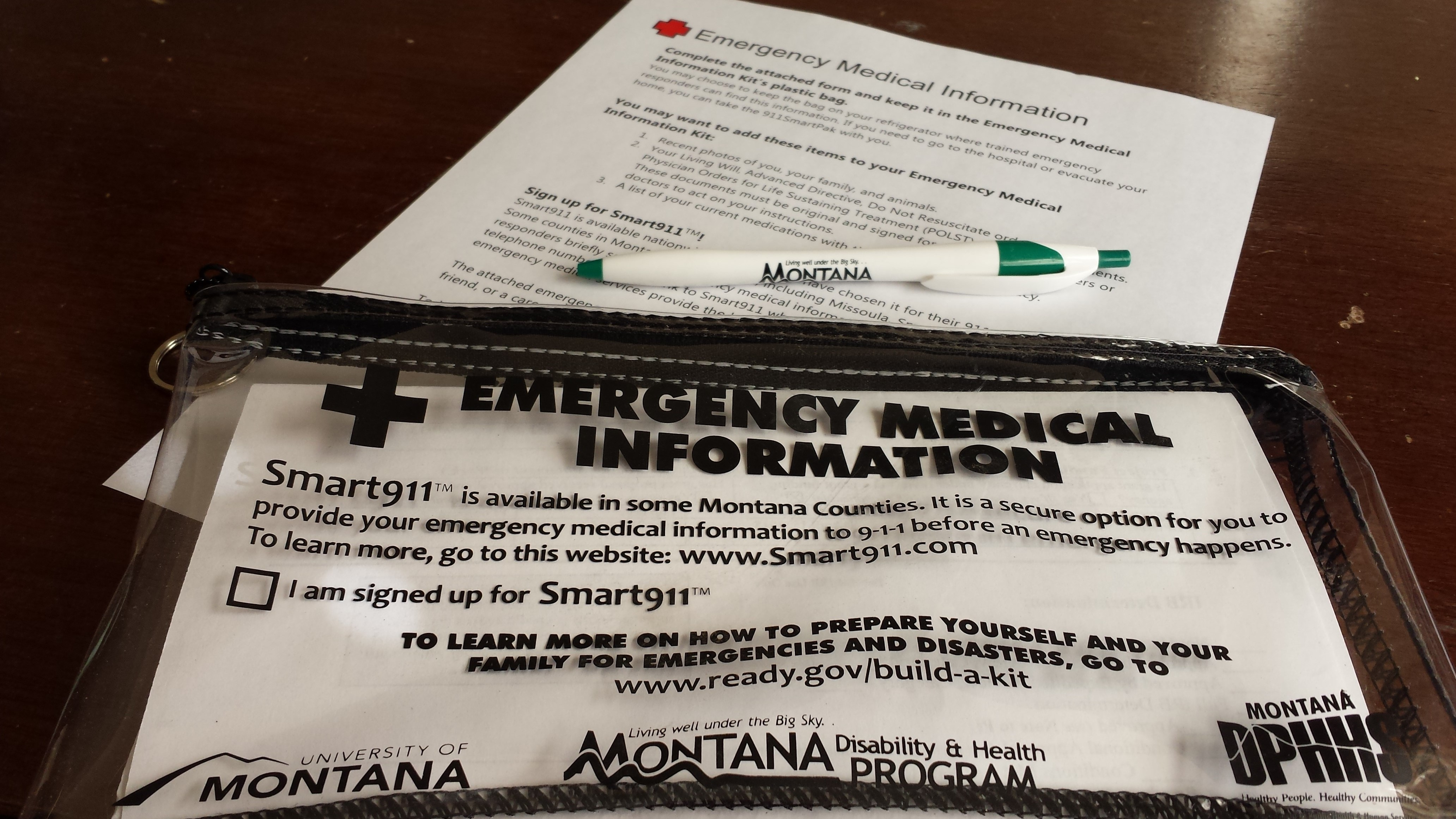 mtdh and partner developed emergency preparedness tools and